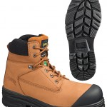 Tan Leather Steel Toe Boots