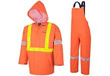 Fire Resistant PVC Rainwear