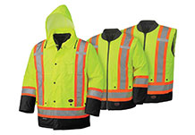 Hi-Viz 6-in-1 Safety Rainwear (300D/450D)